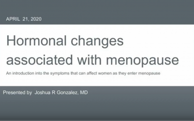 Hormonal Changes Associated with Menopause