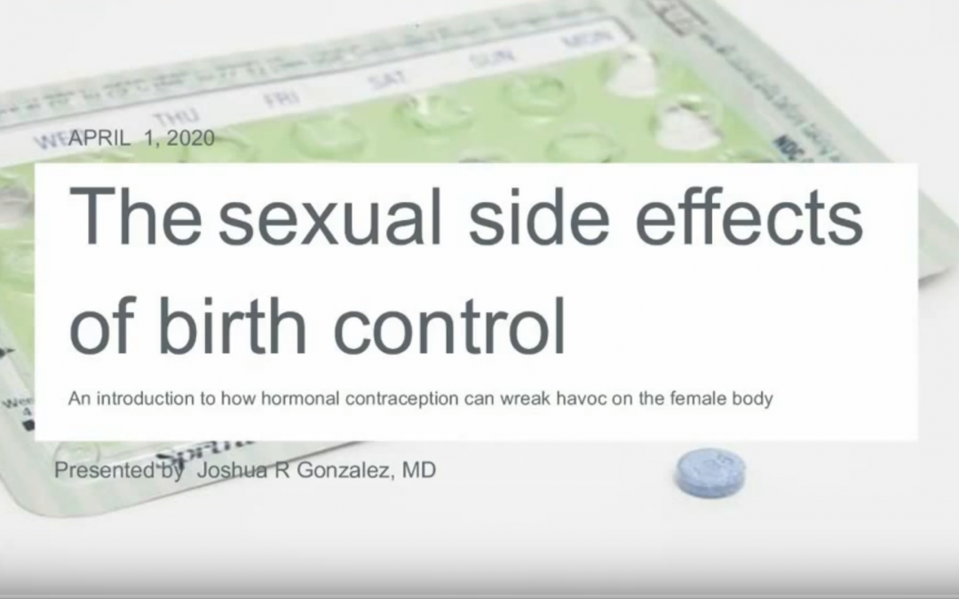 The Sexual Side Effects of Birth Control